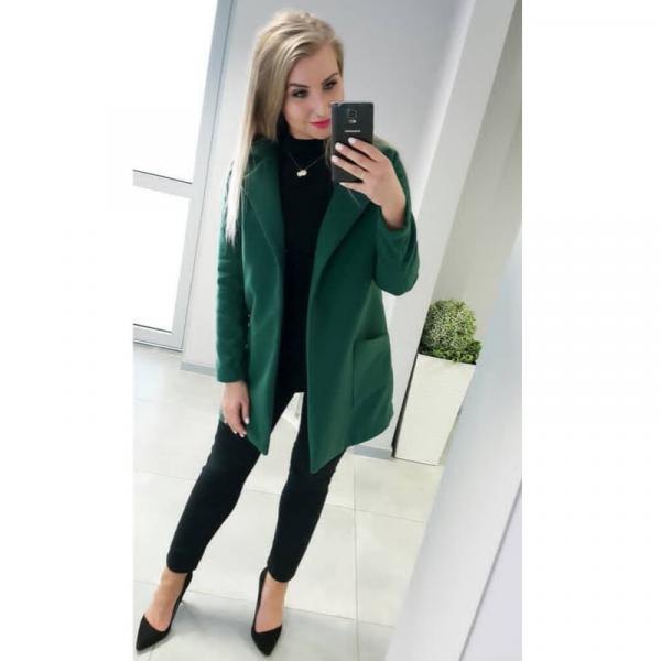 Wykrój online na płaszcz damski flauszowy