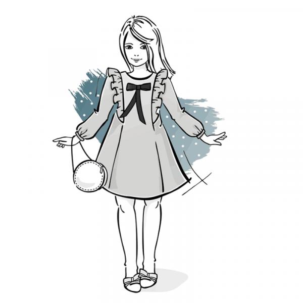 sukienka dziewczeca A