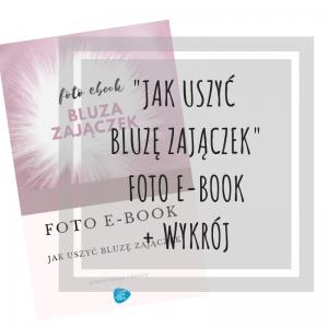 foto e-book Jak uszyć bluzę zajączek