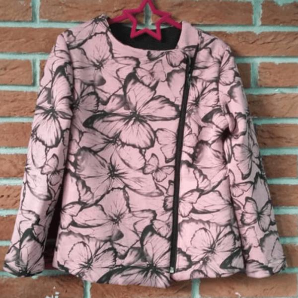 bluzo-marynarka Pola rozowa