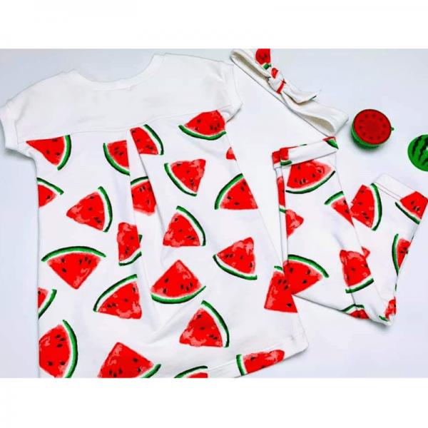 leginsy dzieciece i t-shirt dzieciecy Strefa Kroju i Szycia