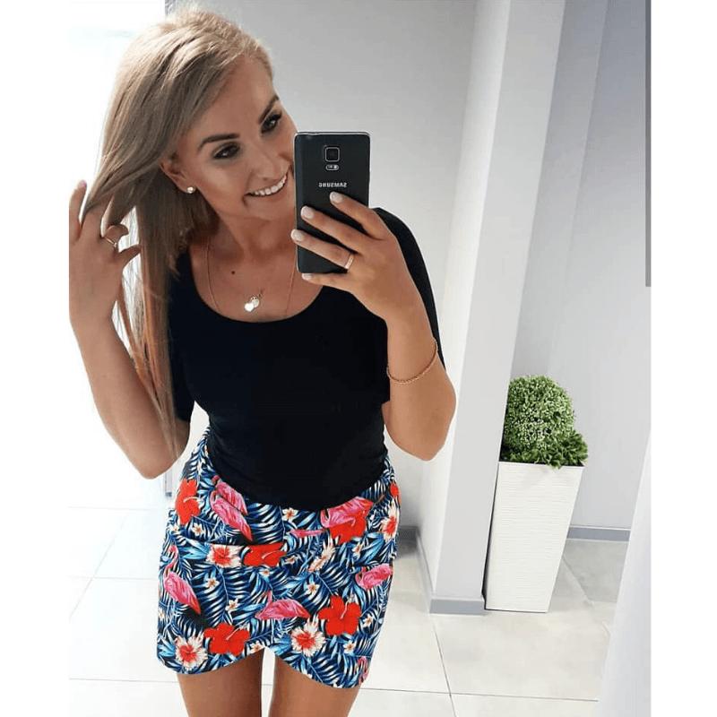 spodniczka damska tulipan Strefa Kroju iSzycia
