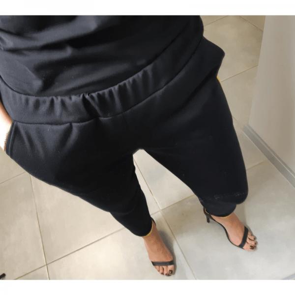 spodnie damskie z lamowka wykroj online strefa