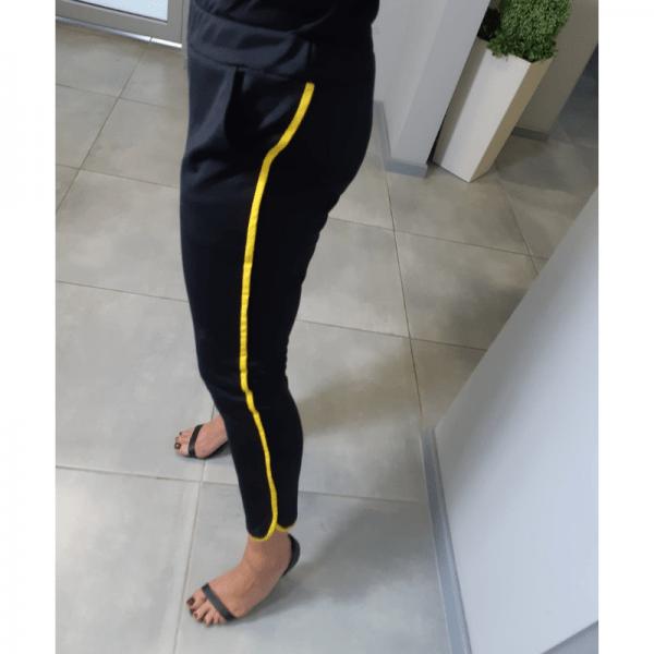 spodnie damskie z lamowka wykroj online strefa kroju i szycia