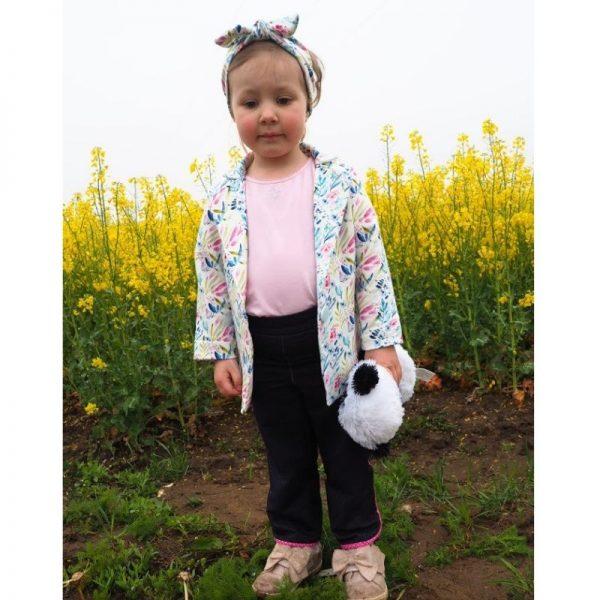 spodnie dziewczece z lamowka viki online