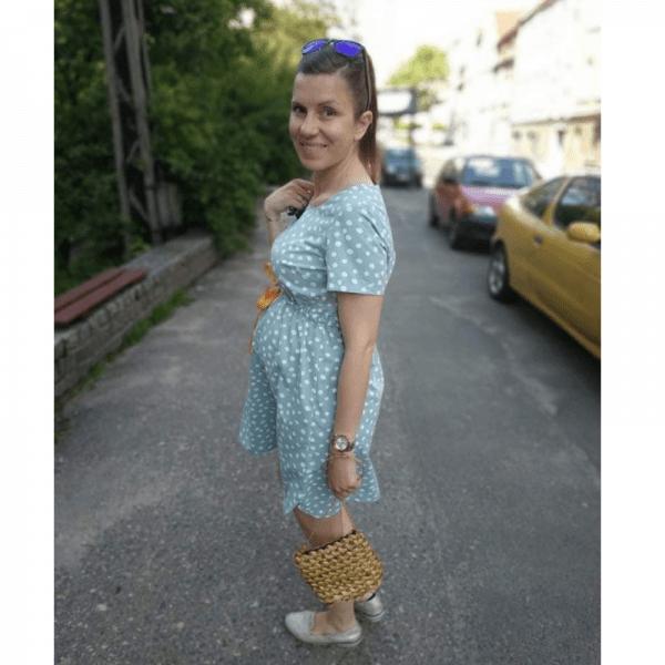 sukienka ciazowa wykroj online (2)