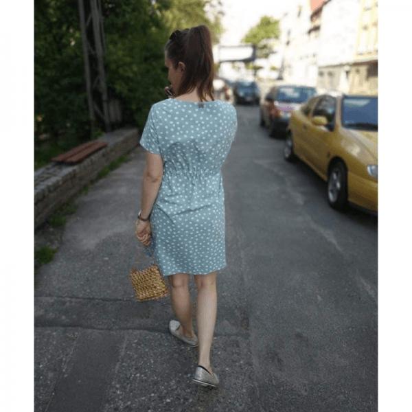 sukienka ciazowa wykroj online cudna