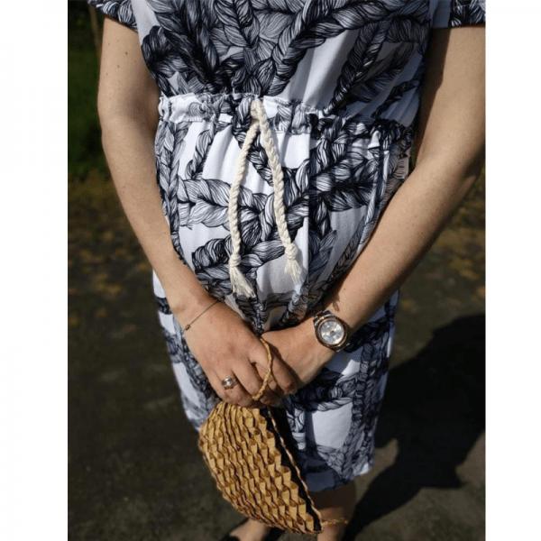 sukienka ciazowa wykroj online strefa kroju
