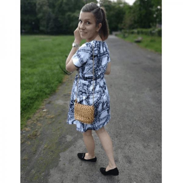 sukienka ciazowa wykroj online strefa kroju i szycia