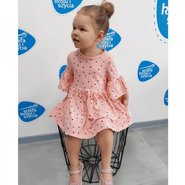 sukienka dla dziewczynki wykroj online
