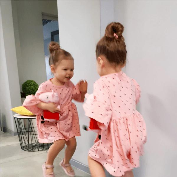 sukienka dla dziewczynki wykroj online jak uszyc