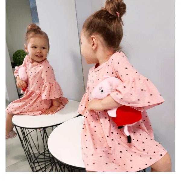 sukienka dla dziewczynki wykroj online strefa kroju i szycia