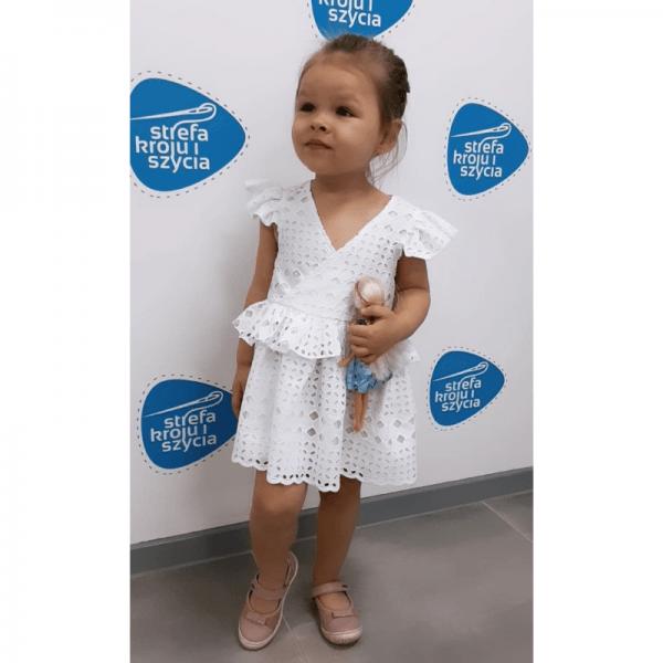 sukienka dla dziewczynki zozo wykroj online
