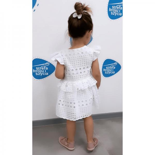sukienka dla dziewczynki zozo wykroj online strefa kroju i szycia