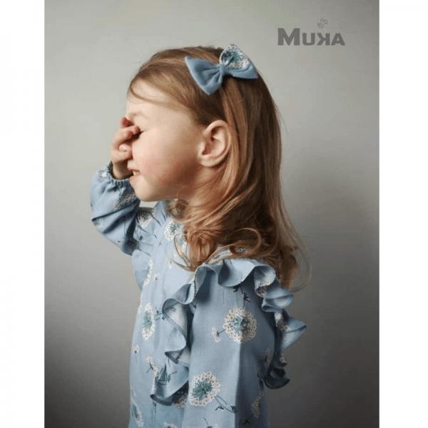 sukienka dziewczeca A wykroj online
