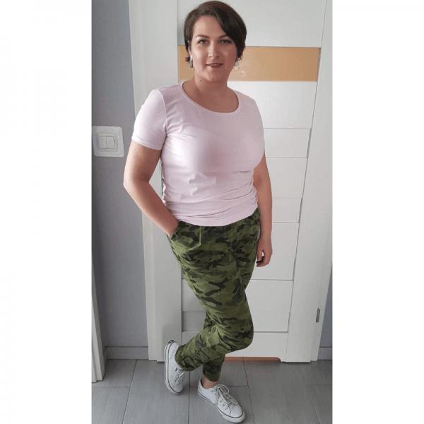 t-shirt damski wykroj online strefa