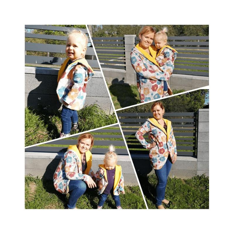 Szycie nażywo fb live jesienna bluza