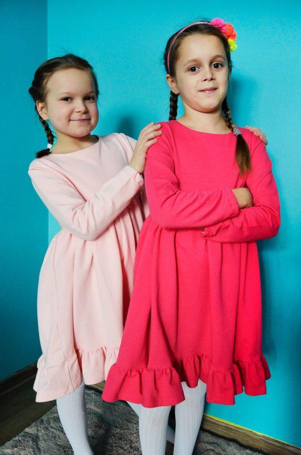 Wykrój na sukienkę dla dziewczynki Sisi online strefa