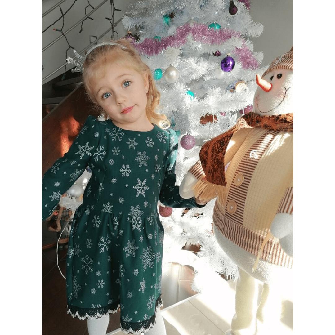 Jak uszyć świąteczną sukienkę wykrój online