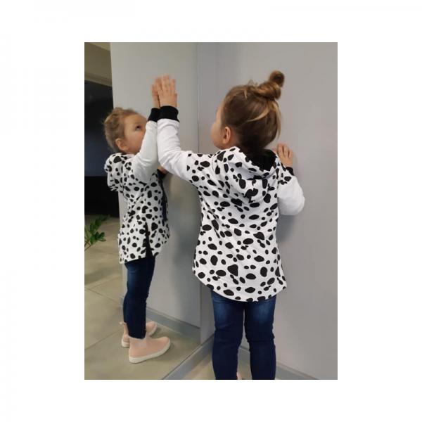 Wykrój na bluzę dziecięcą Liza