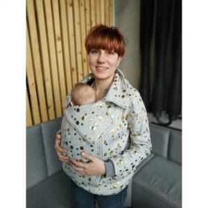 Jak uszyć bluzę do noszenia dziecka