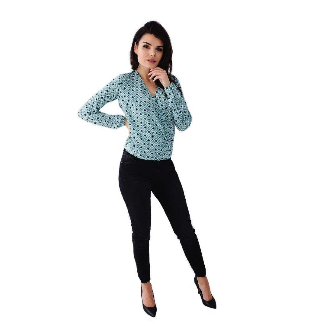 Jak uszyć bluzki kurs online bluzka kopertowa