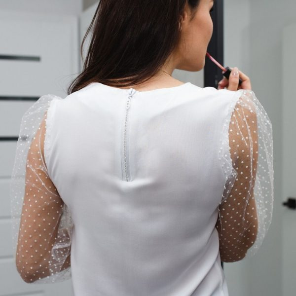 Jak uszyć bluzki kurs online bluzka z bufkami