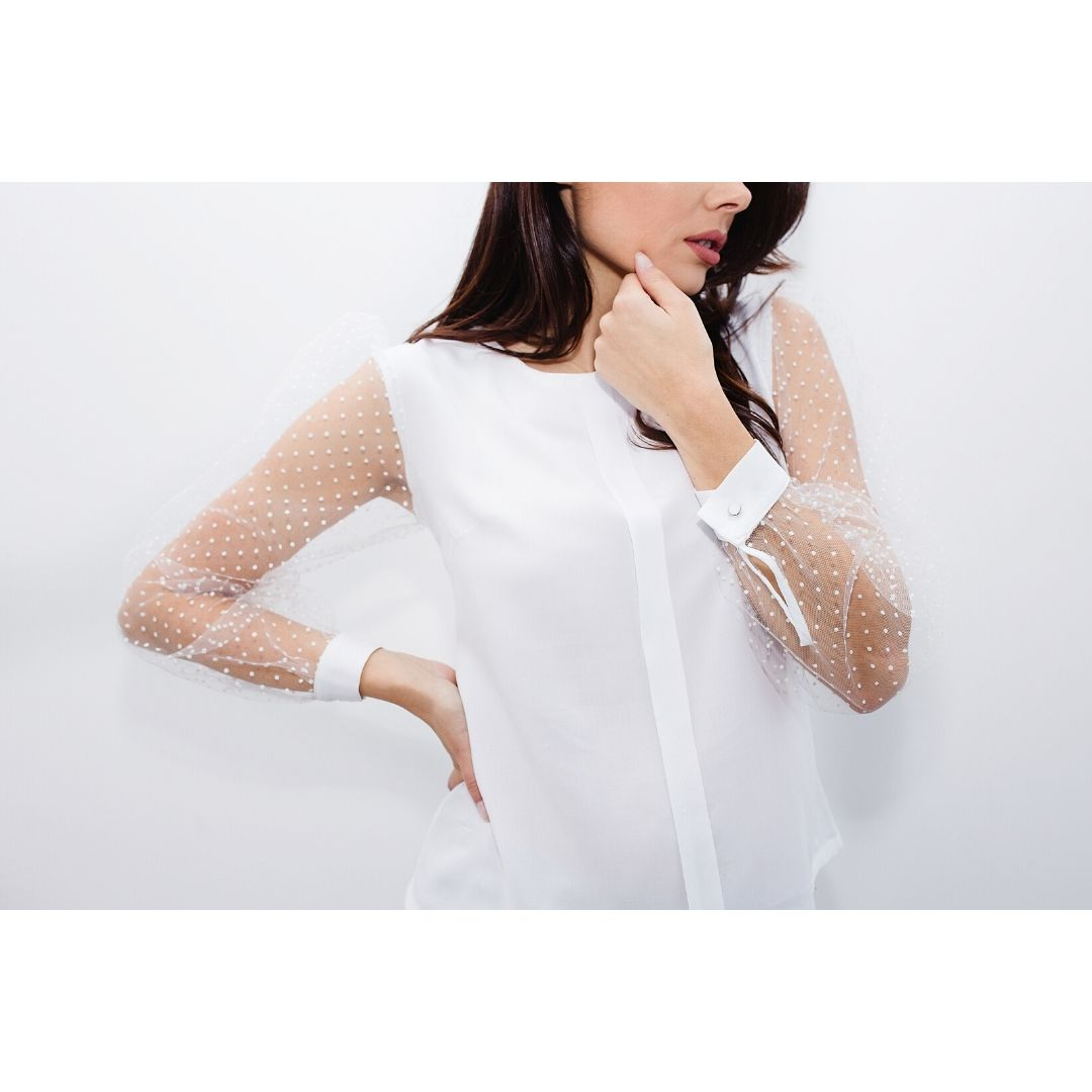 Jak uszyć bluzki kurs online bluzka zbufkami