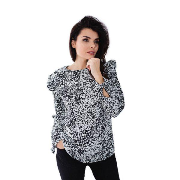 Jak uszyć bluzki kurs online bluzka z falbankami