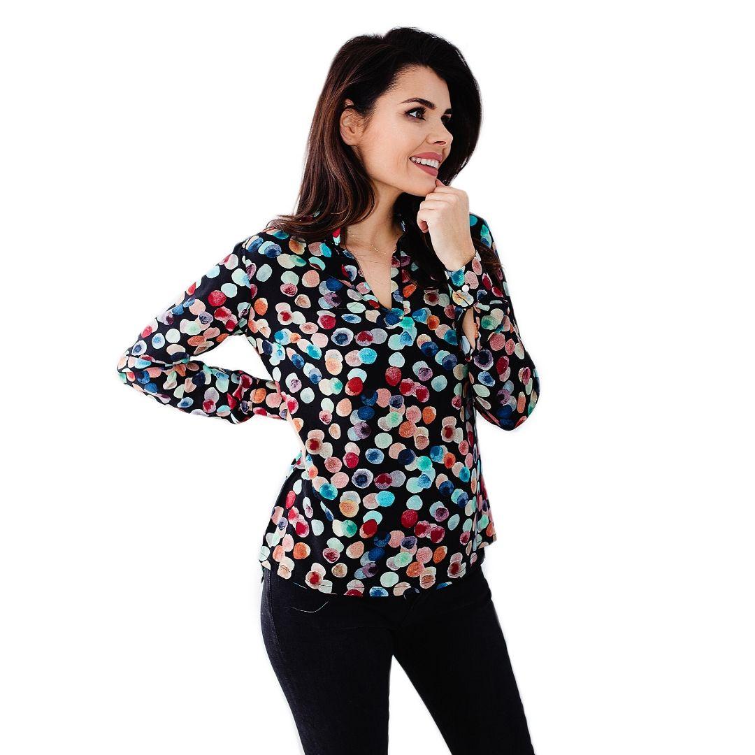 Jak uszyć bluzki kurs online bluzka zestójką