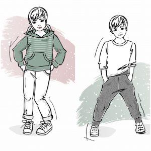 Szkoła szycia online dres dziecięcy