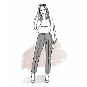 Szkoła szycia online spodnie damskie
