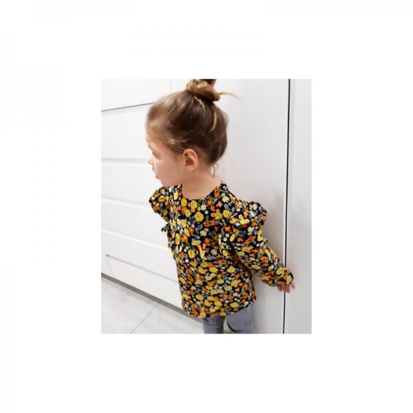 Wykrój na bluzkę dla dziewczynki Maja