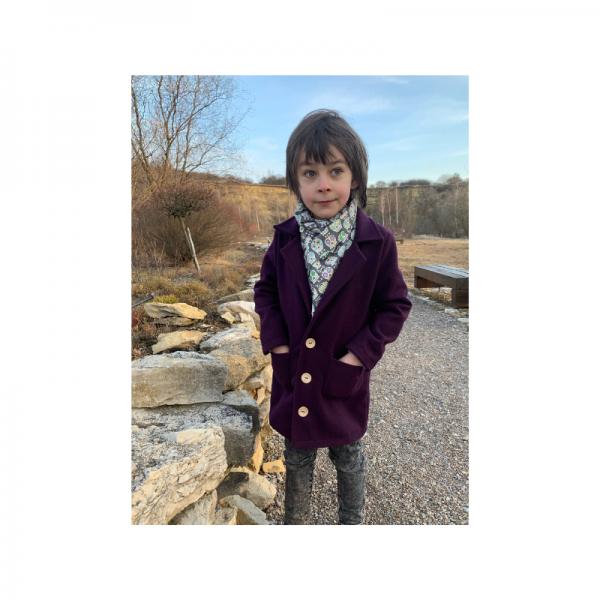 Wykrój na płaszczyk dla chłopca Marcel