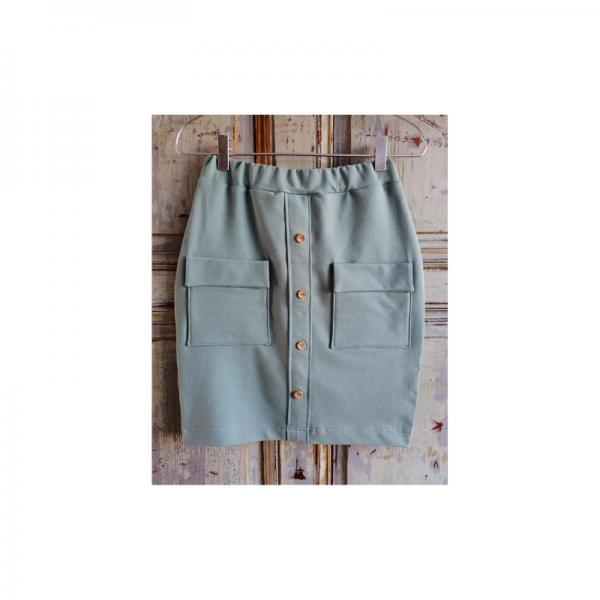 Wykrój na zestaw damski Milena bluza i spódnica