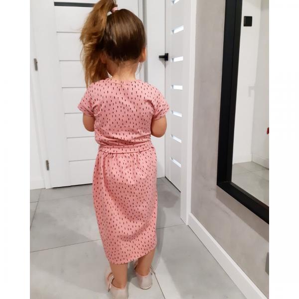 Wykrój na sukienkę dla dziewczynki Carmen