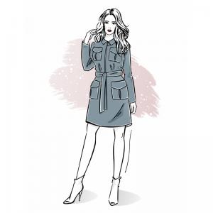 Szkoła szycia online szmizjerka damska jak uszyć