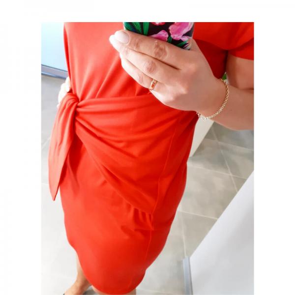 wykrój online sukienka damska Amanda