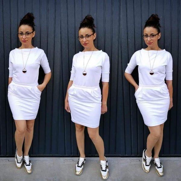 wykrój online na sukienkę damską Ada
