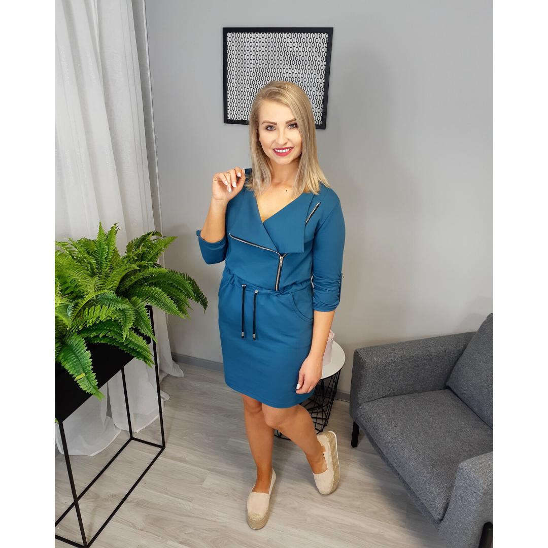 Szkoła szycia online sukienka damska dzianinowa Juliette
