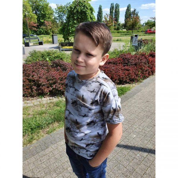t-shirt dziecięcy Adam wykrój online