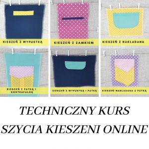 Techniczny kurs szycia kieszeni online