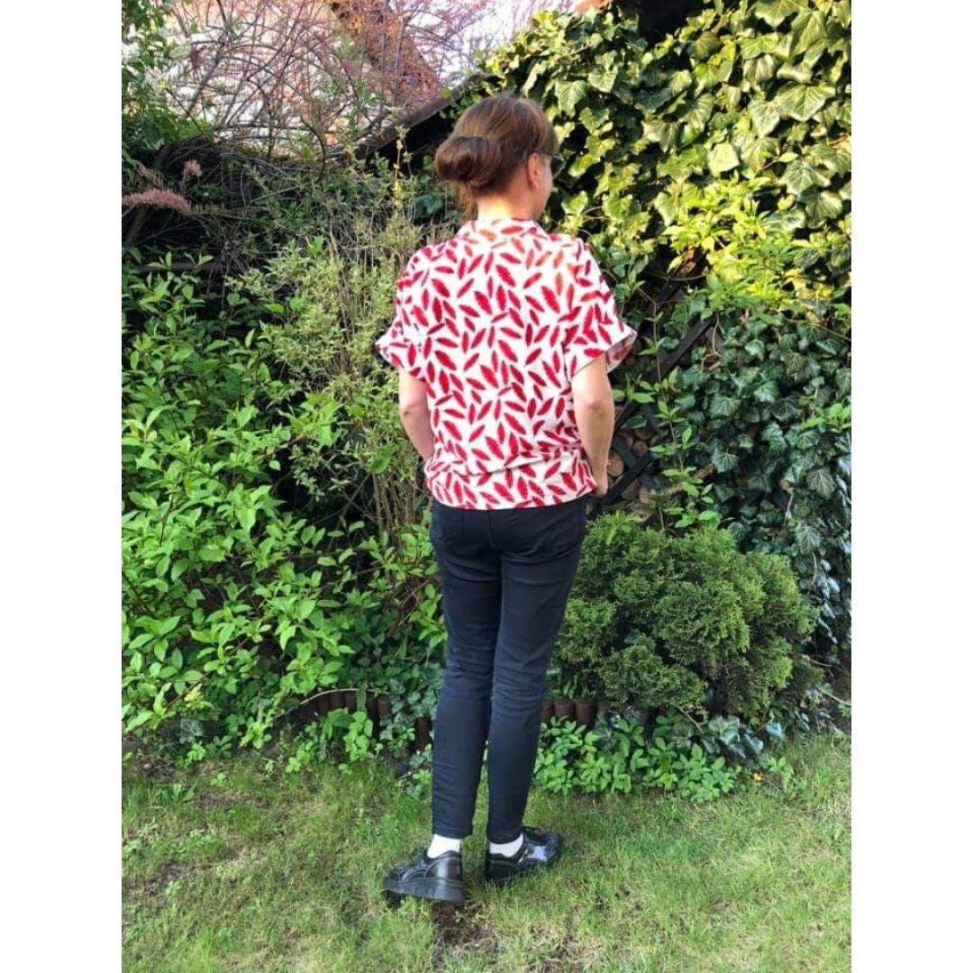 Koszula letnia damska wykrój