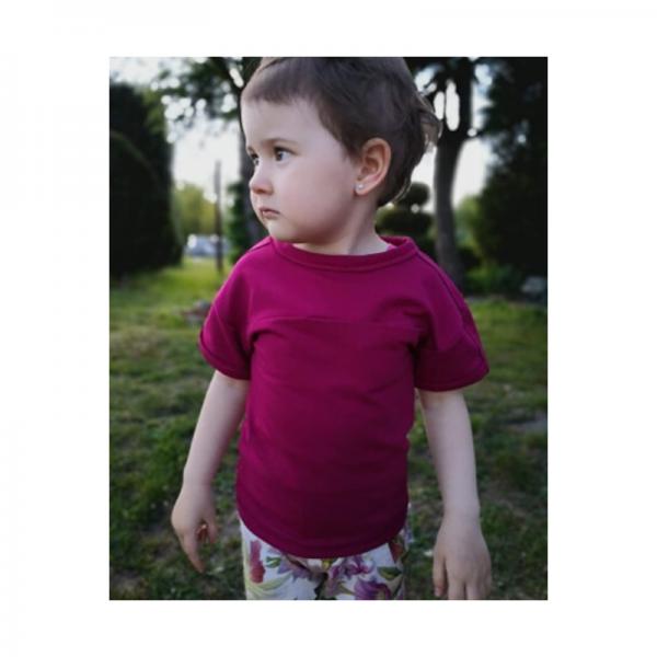 Wykrój online t-shirt dziecięcy Adam