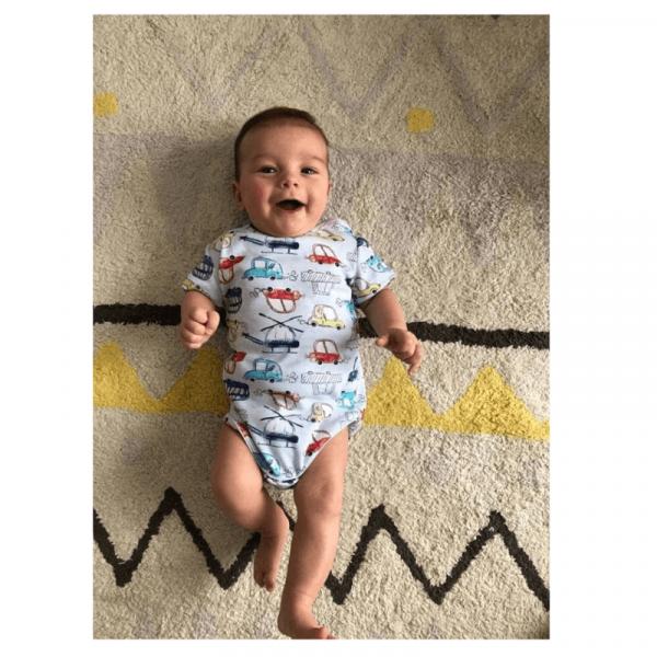 body newborn wykrój online