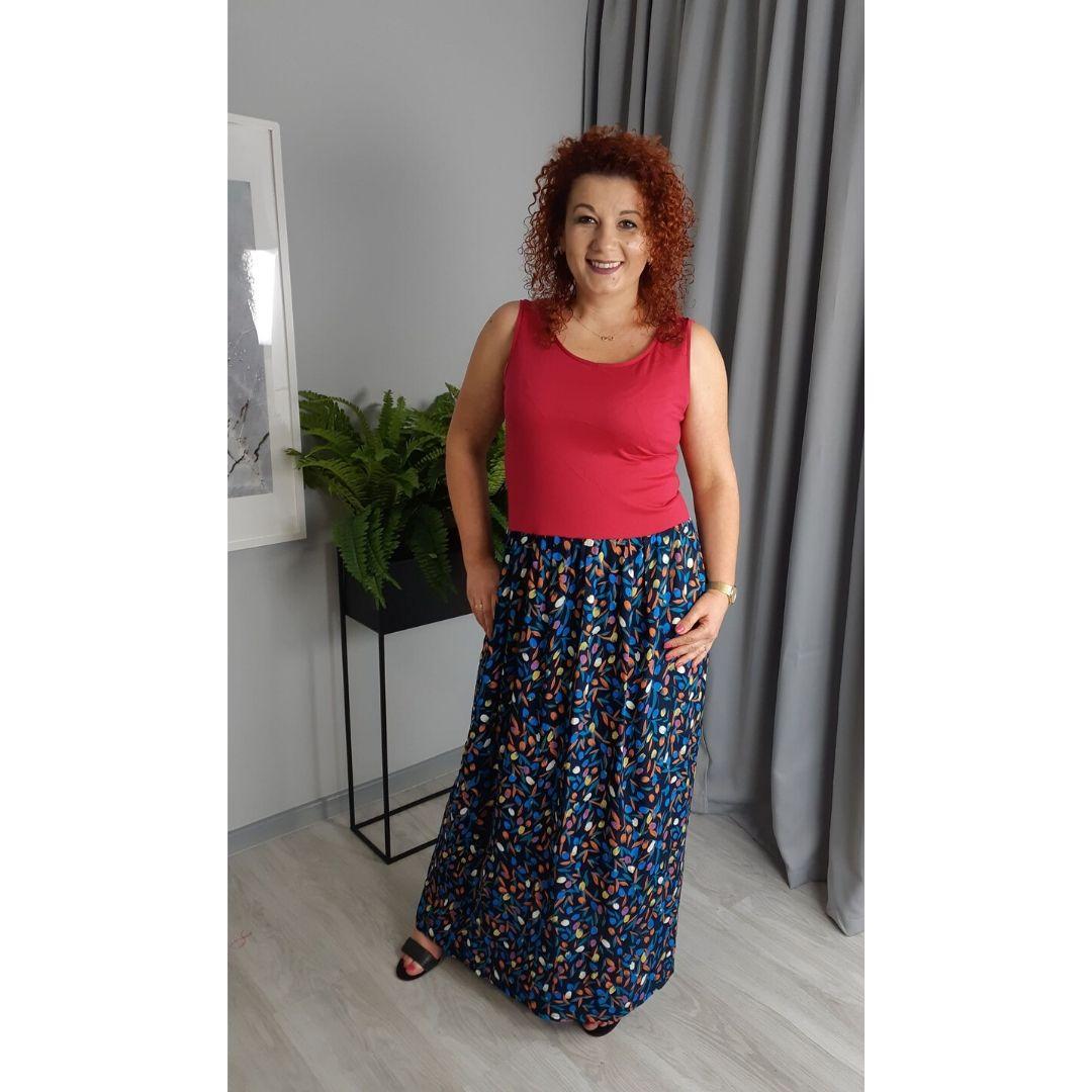 szkoła szycia online sukienka letnia