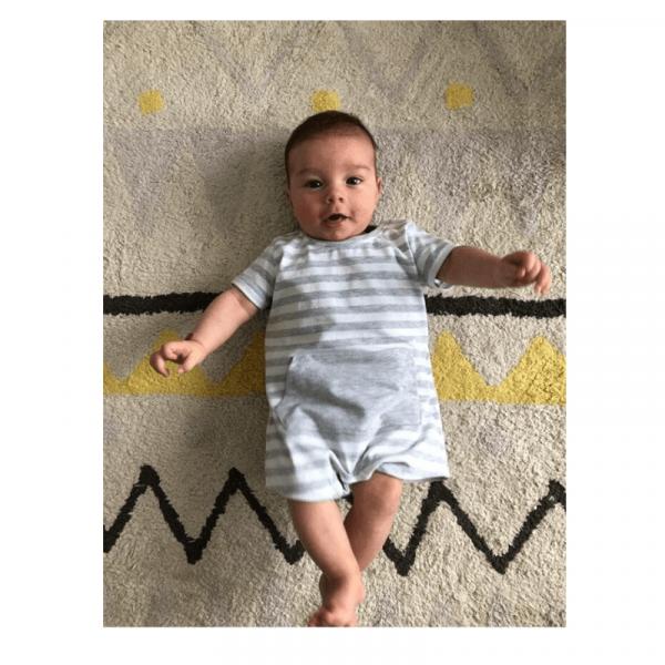 Wykrój na rampersy newborn online