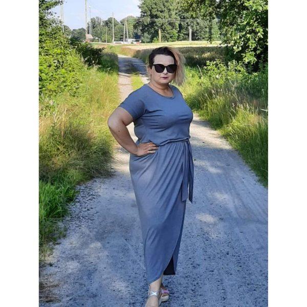 wykrój na sukienkę dalmską Carmen plus size