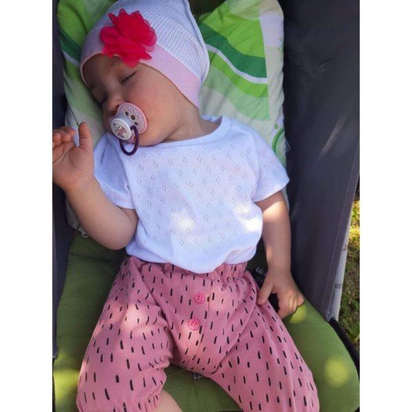 wykrój na szorty newborn dla chłopca i dziewczynki
