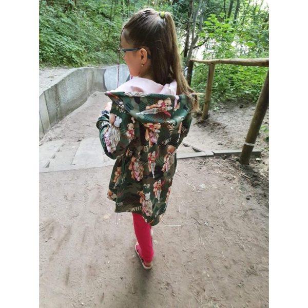wykrój na bluzę dziecięcą Rege chłopiec i dziewczynka